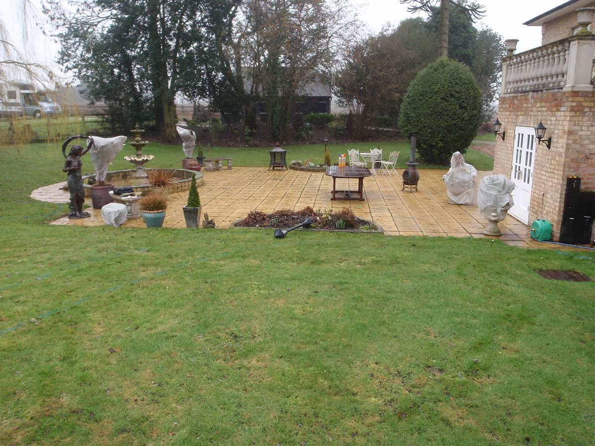 before garden design oxford