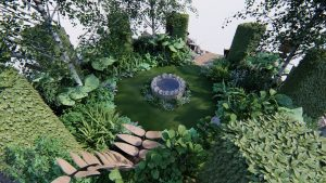 Garden Design in Northamptonshire (Northants)