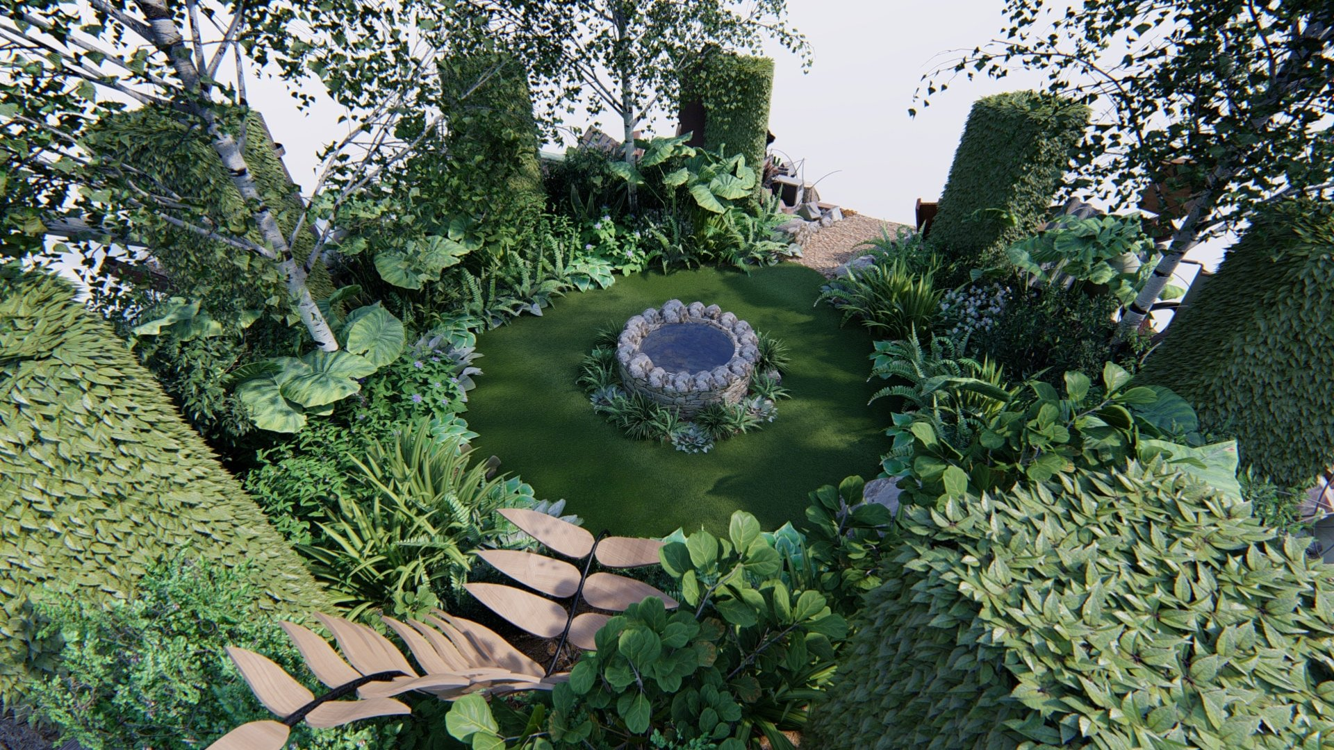Garden Design in Northamptonshire (Northants) - Gardens ...